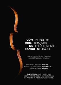 Con Aire de Tango Plakat